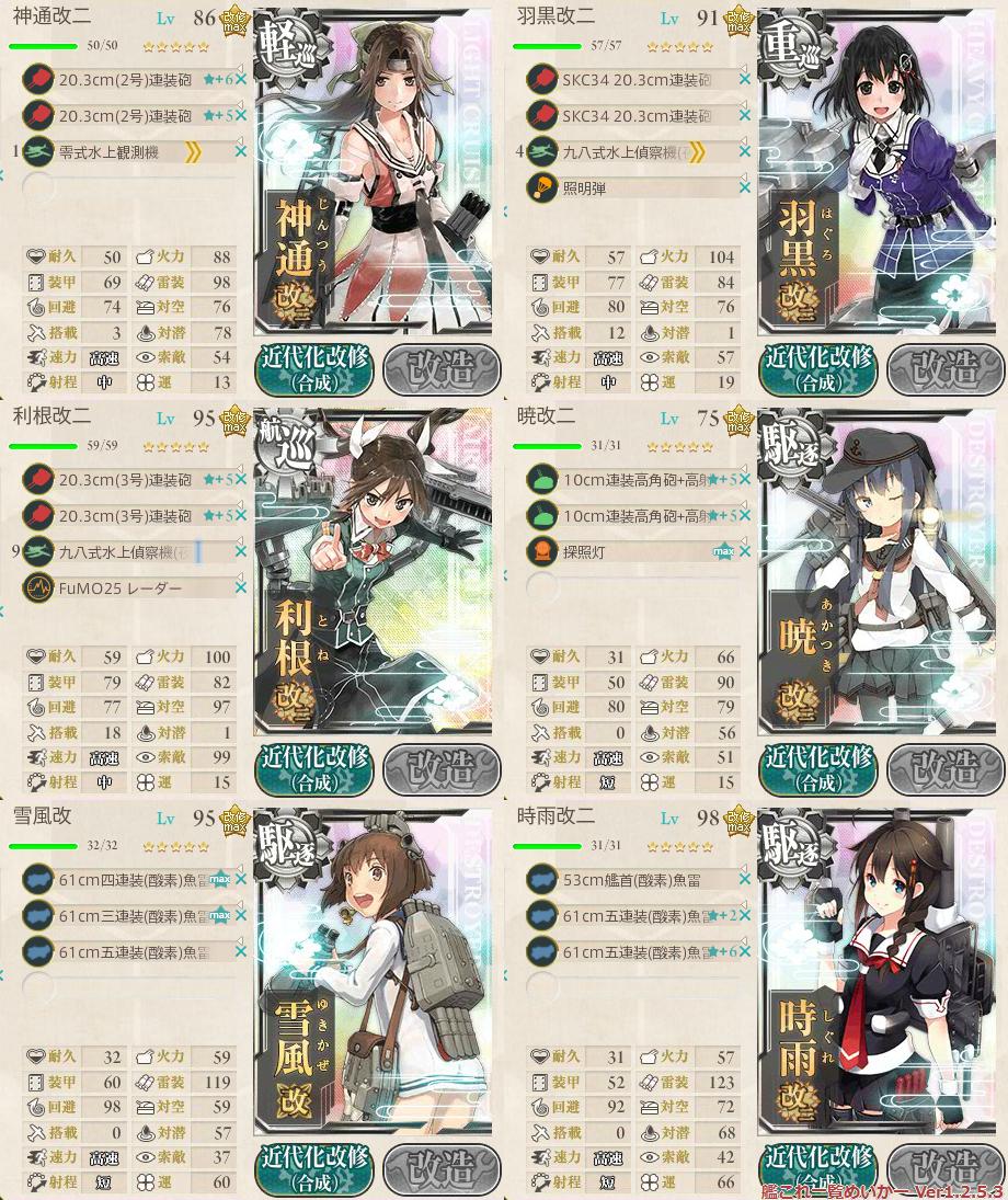 艦これ2015秋イベントE3_2-2