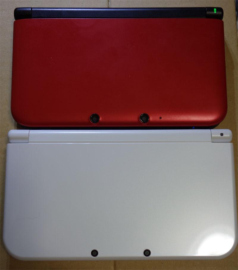 Newニンテンドー3DS LL 比較