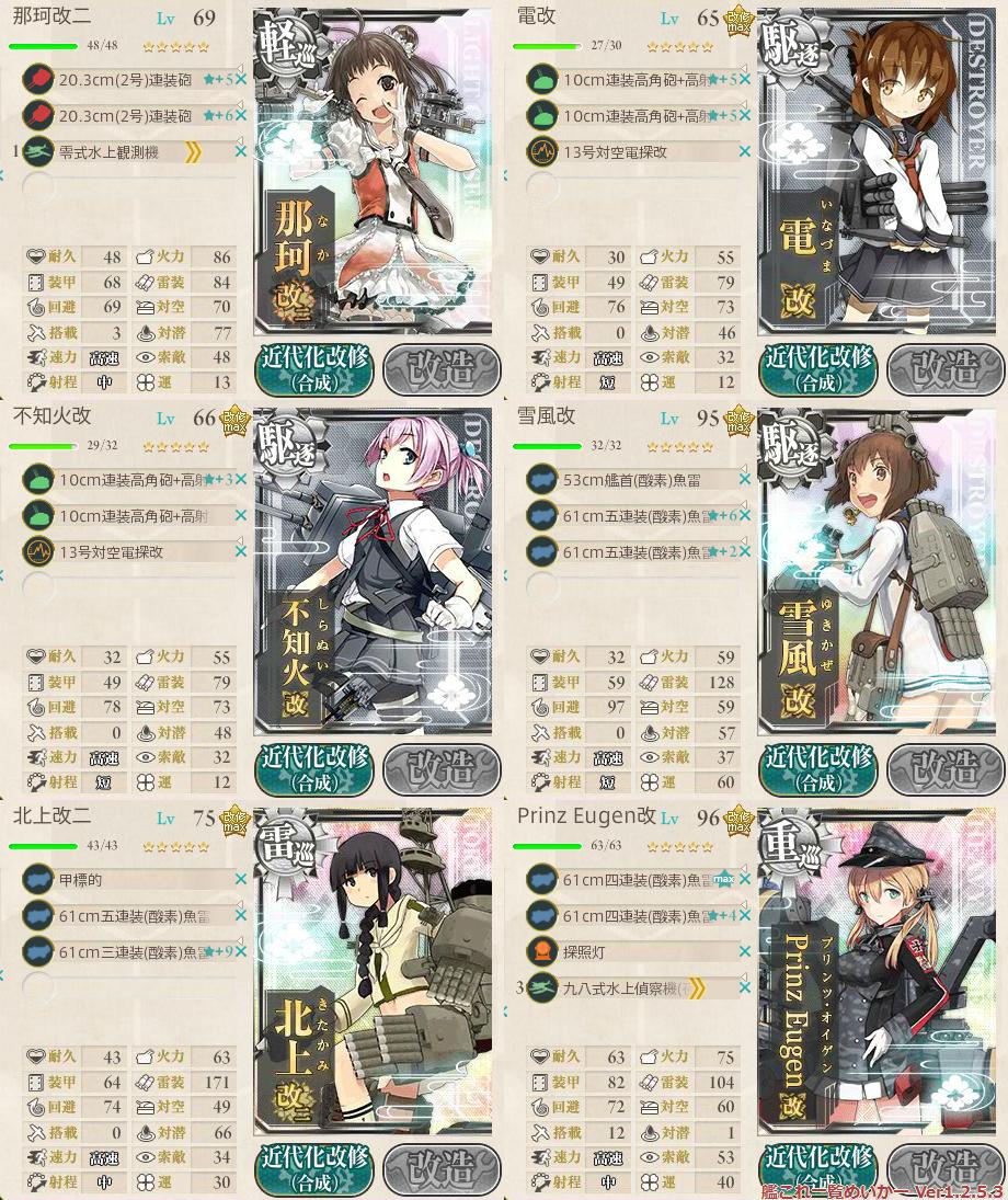 艦これ2015秋イベントE1_2